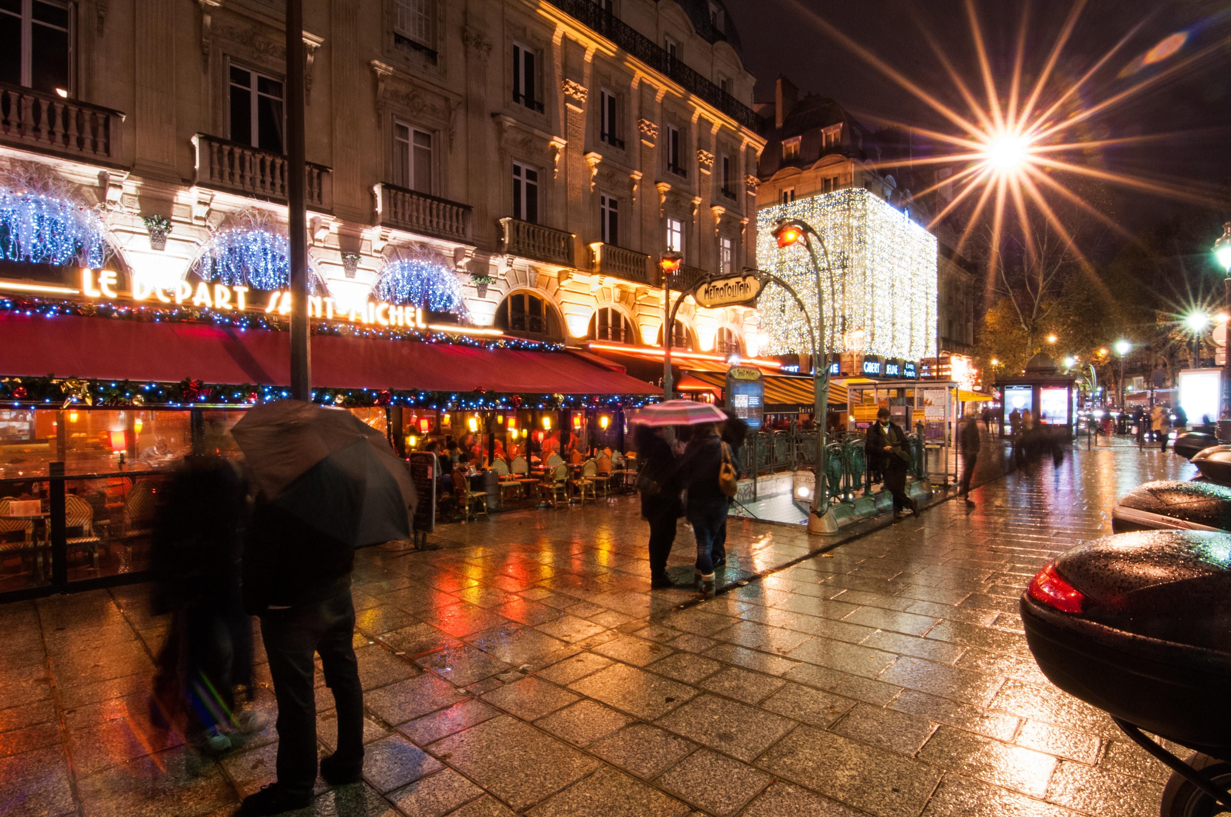Parisian Rainshower