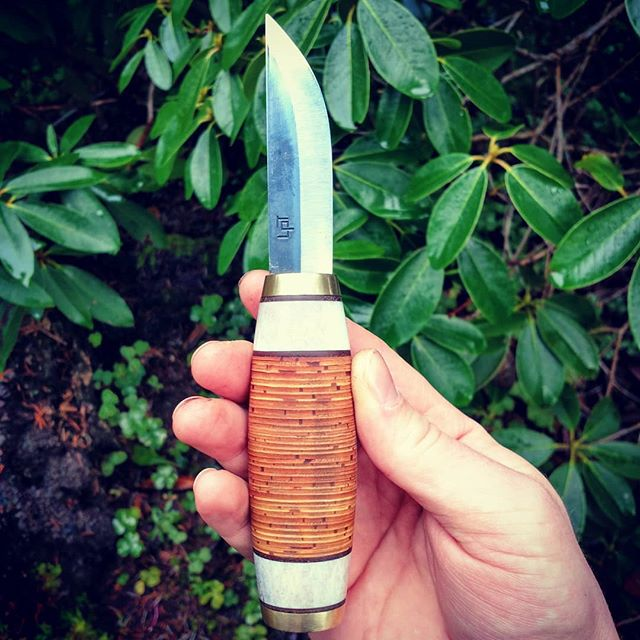 Birch Bark Puukko