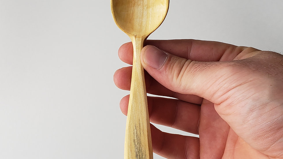 Small Box Elder Spoon