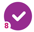 icon of checkmark shape