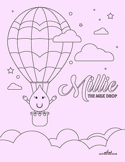Image of Millie coloring page
