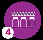 icon of three milk bottles