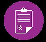 icon of a prescription form