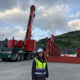 Equipo Dingemas: Pilar - Paso Superior sobre VSM Bilbao