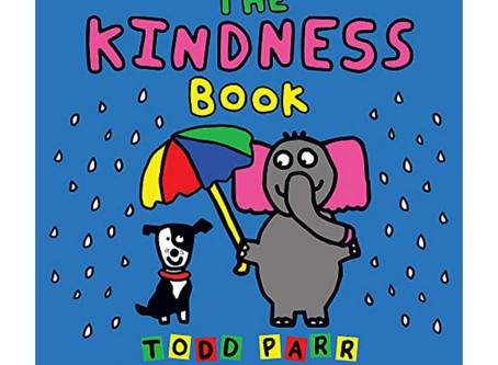 """Storytime: """"The Kindness Book"""" by Todd Parr (#MMK Day 22)"""