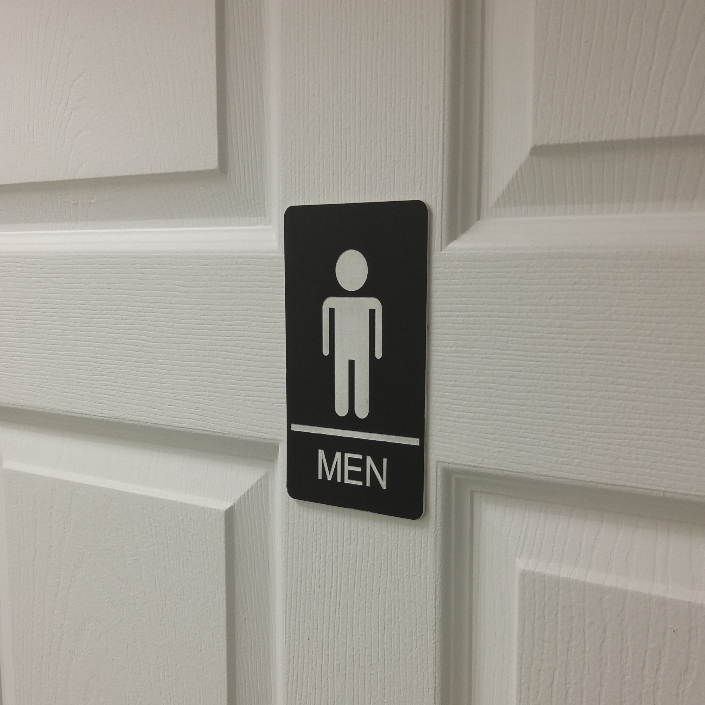 Washroom Sign