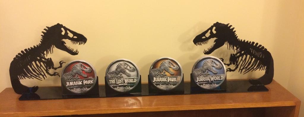 Jurassic Park DVD Holder