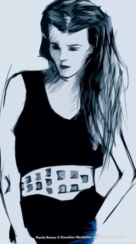 Girl 90's