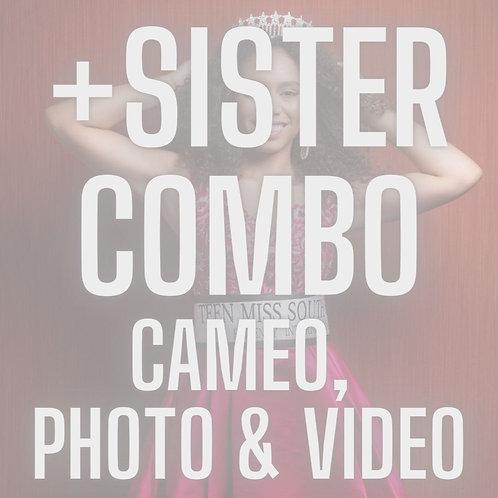 +ADD SISTER COMBO Photo, Video & Cameo