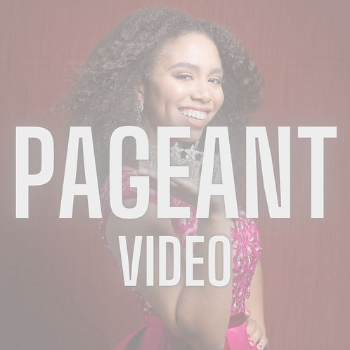 Pageant Videography