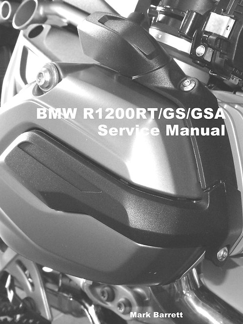 Service Manual for BMW R1200RT / GS / GSA