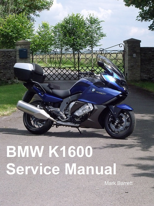 Service Manual for BMW K1600GT
