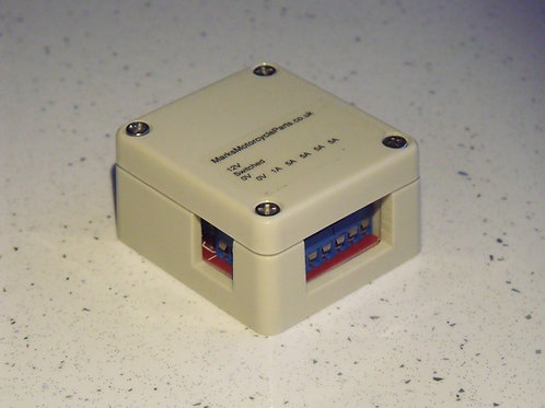 5 Way Switched Fused Power Outlet