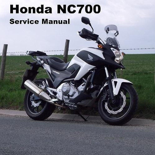 Service Manual for Honda's NC700