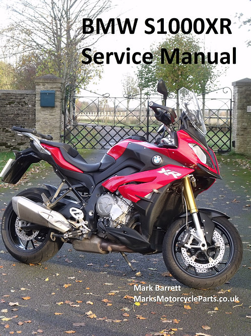 Service Manual for BMW S1000XR
