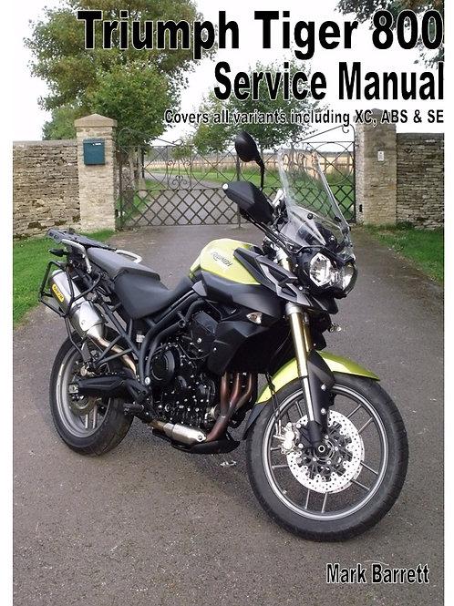 Service Manual for Triumph's Tiger 800