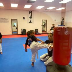 Learning Side Kick
