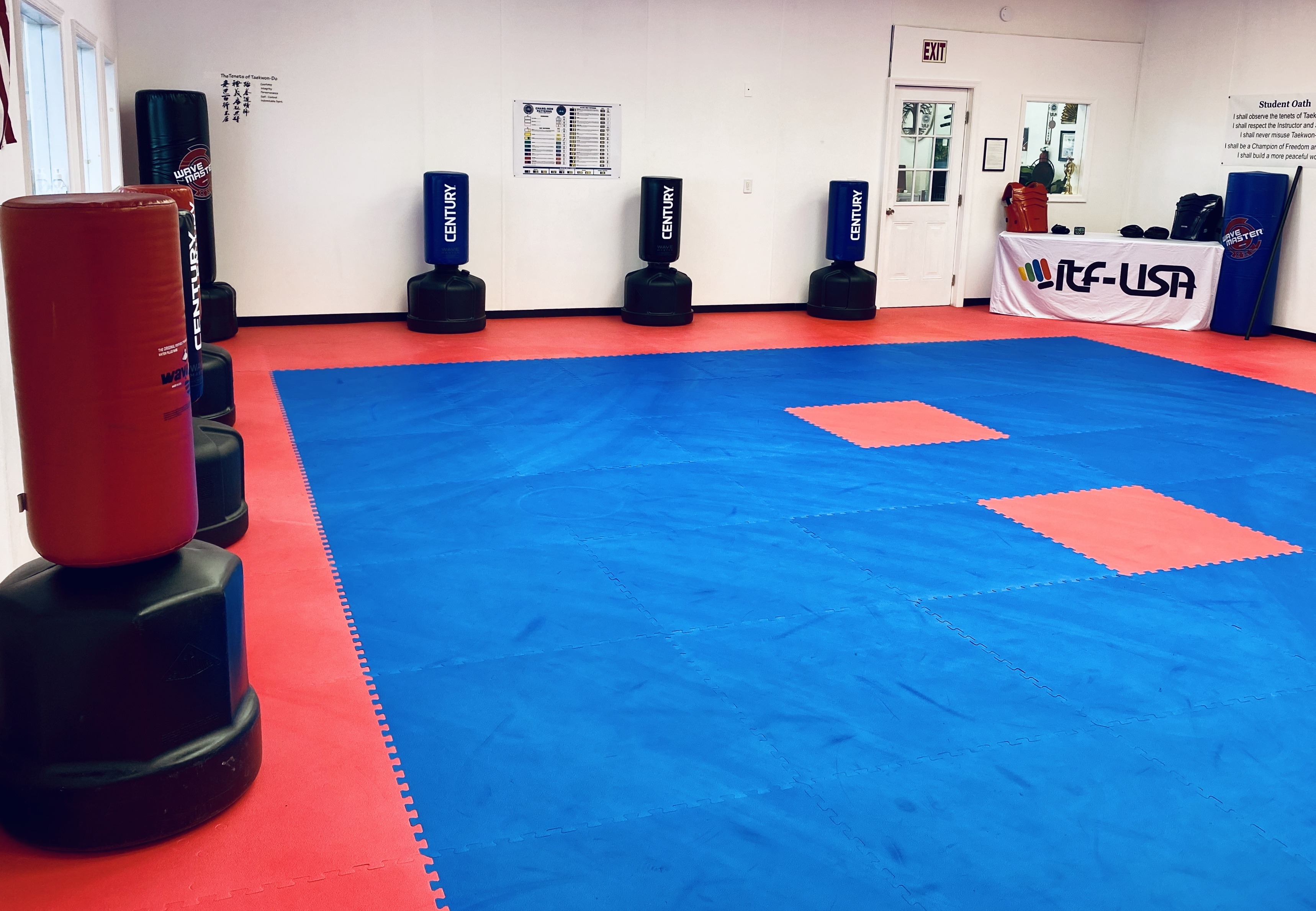 Training Area (dojang)