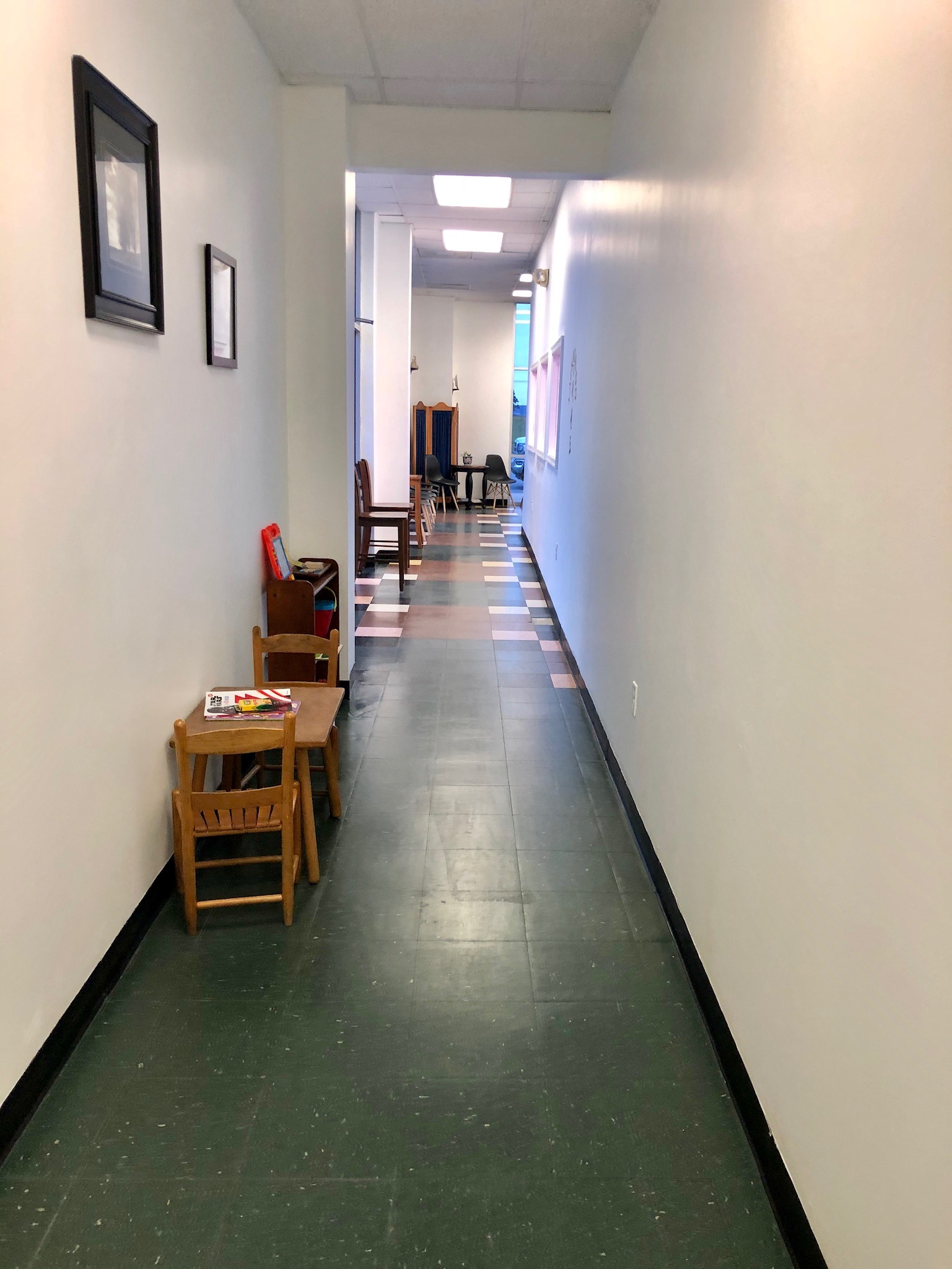 Facility Side Corridor