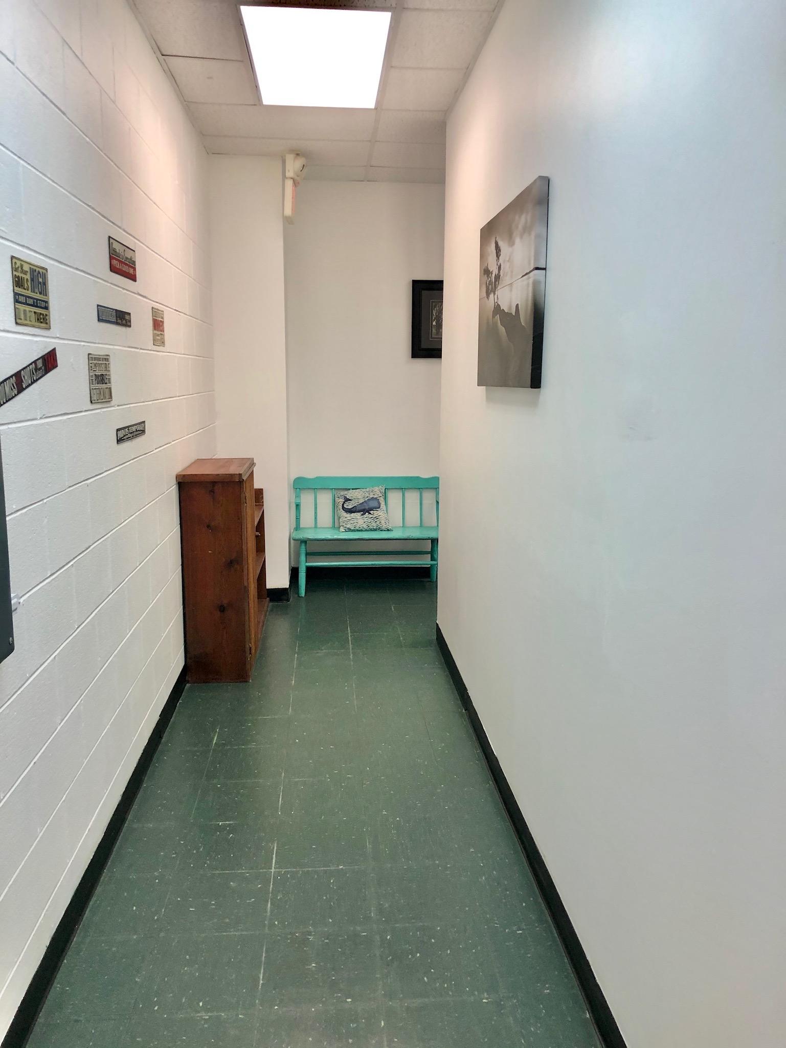 Facility Rear Corridor