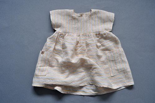 """Sommerkleid aus Leinen """"feine Stripes"""""""