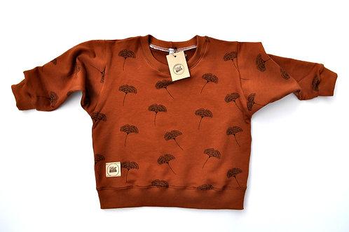 "oversized Sweatshirt ""Ginkgo"""