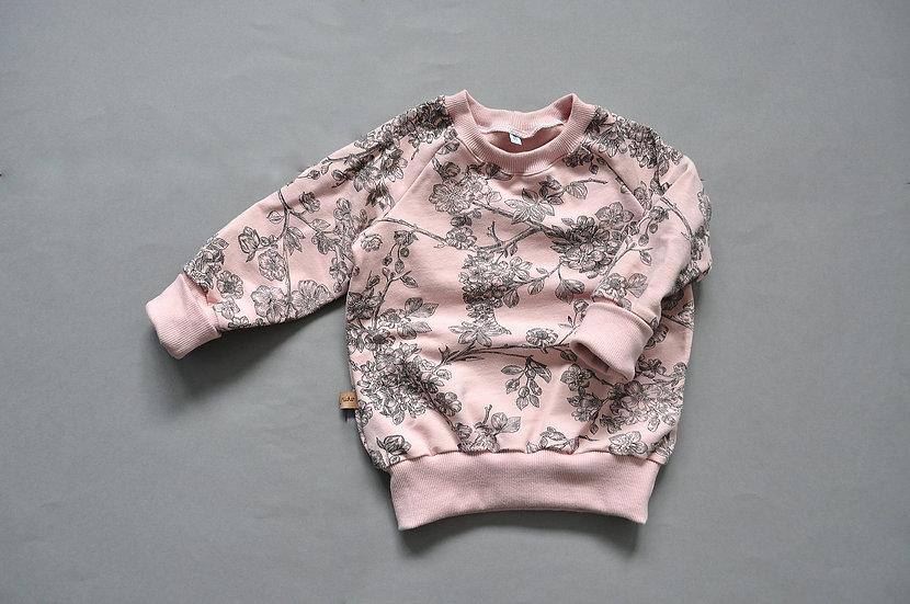 "Raglan-Sweatshirt ""cherry blossom"""