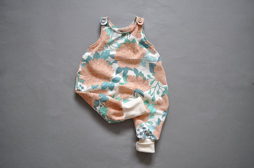 "Baby-Overall aus Sweat ""sea salt"""