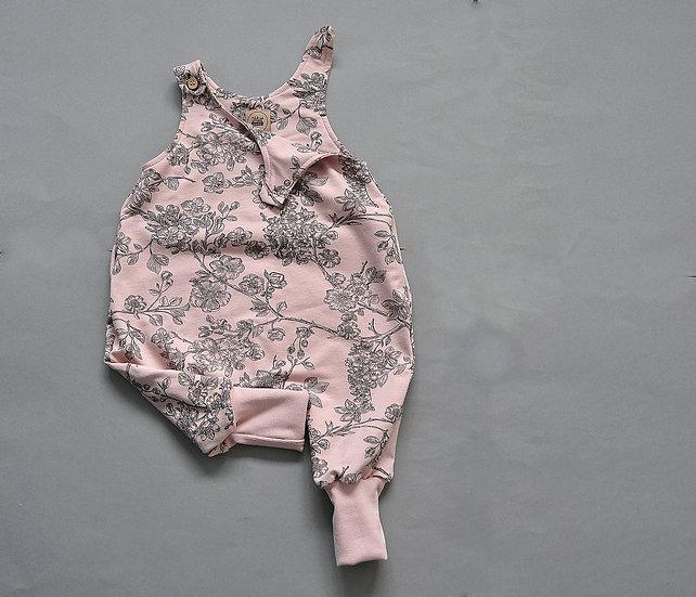 "Baby-Overall aus Sweat ""cherry blossom"""