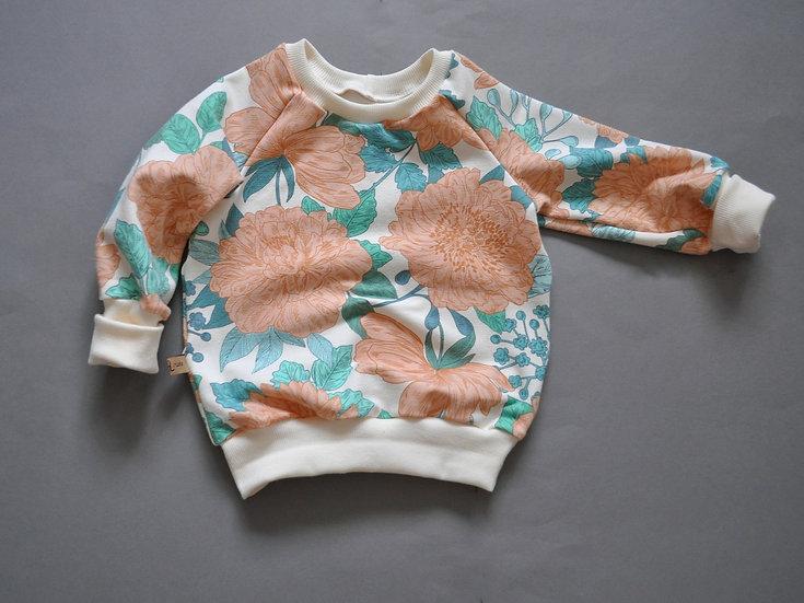 "Raglan-Sweatshirt ""sea salt"""
