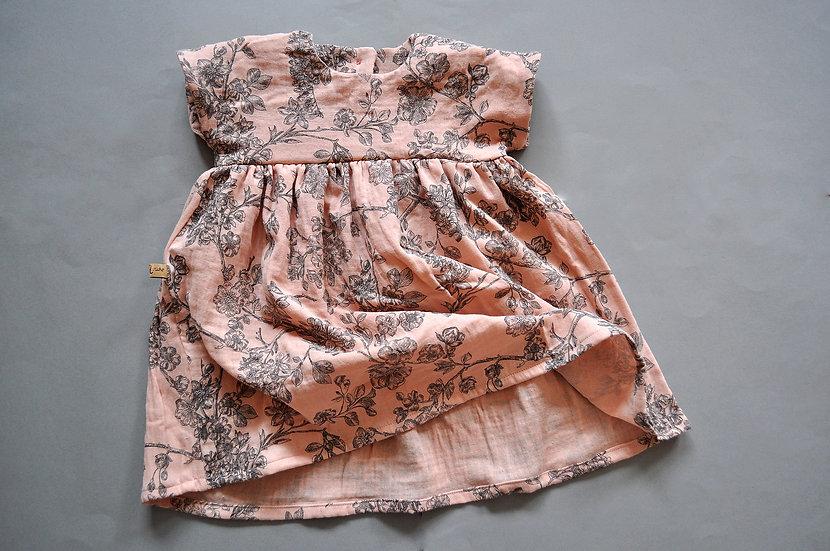 """Sommerkleid aus Musselin """"cherry blossom"""""""