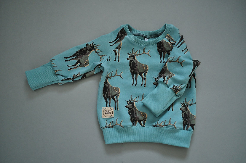 "Raglan-Sweatshirt ""Deer"""