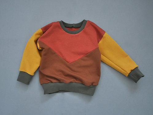 Colorblock-Sweatshirt (limitiert)