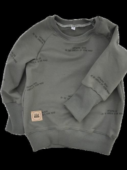 """Raglan-Sweatshirt """"growing ideas ivy green"""""""