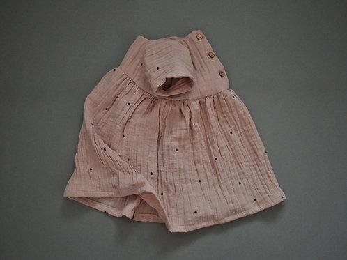 Sommerkleid aus Bio-Musselin in vier versch. Farben