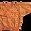 "Thumbnail: oversized Sweatshirt ""caramel Punkte"""