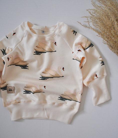"""Raglan-Sweatshirt """"creme swan"""""""