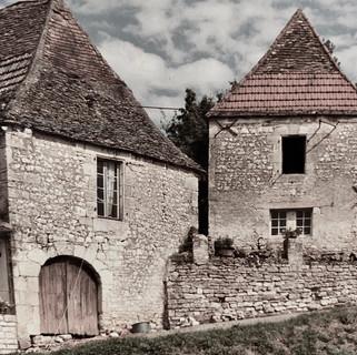 La maison et le gîte du Passeur en 1966
