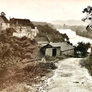 La côte d'Envaux en 1961