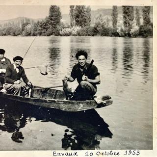 Partie de pêche en 1953