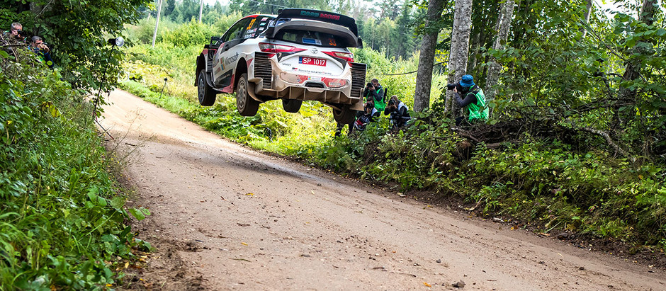 PODIUM, POWER STAGE WIN AND A STREAK OF FASTEST TIMES FOR THE TOYOTA YARIS WRC