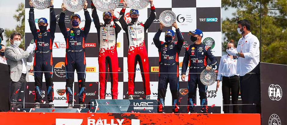 EVANS CLAIMS VICTORY FOR TOYOTA GAZOO Racing ON A TURBULENT FINAL DAY