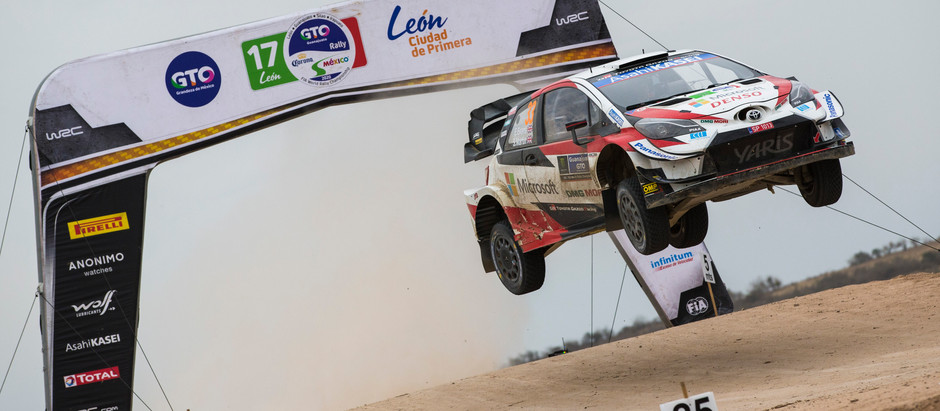 EVANS FINISHES FOURTH AT RALLY MEXICO WITH CO-DRIVER SCOTT MARTIN