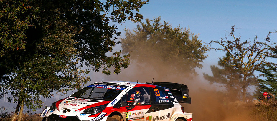 EVANS REMAINS CHAMPIONSHIP LEADER FOR TOYOTA GAZOO Racing