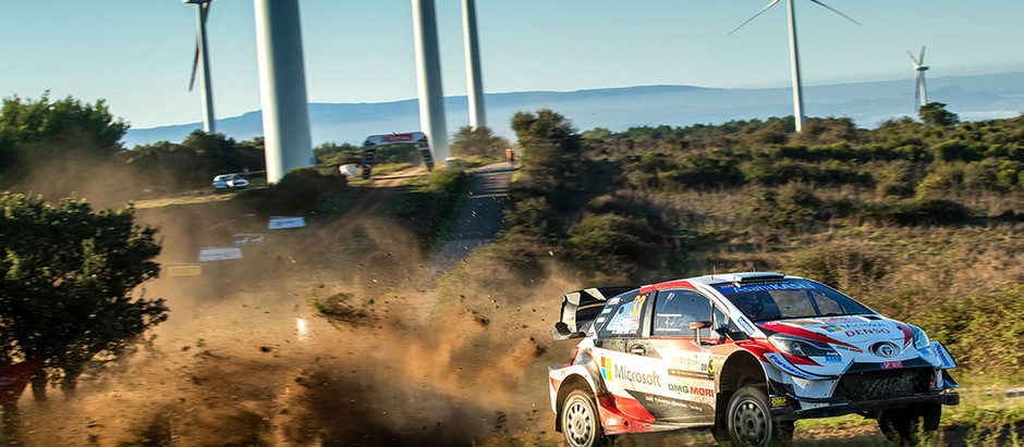 TOYOTA GAZOO Racing READY TO DEFEND WRC LEADERSHIP IN SARDINIA