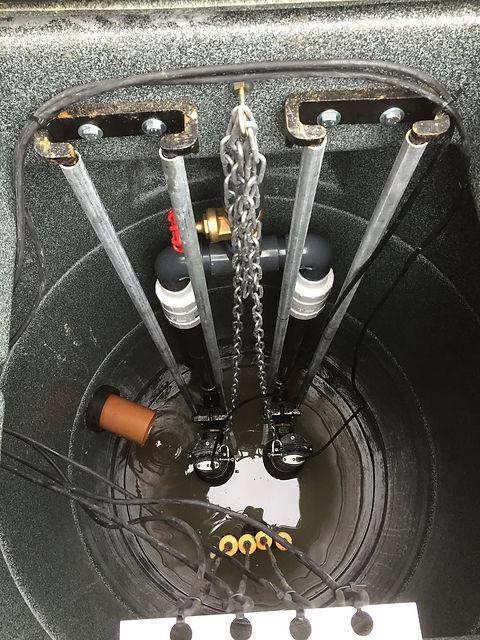 Pump station maintenance