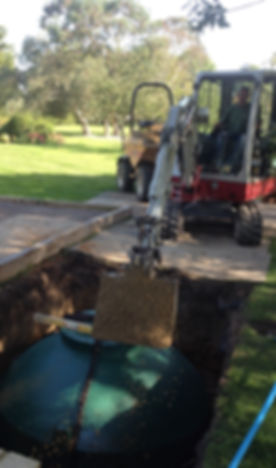 How to replace a septic tank with treatment plant