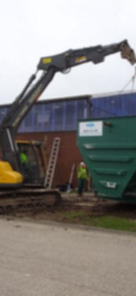 Lenham storage Andover HiPAF tank