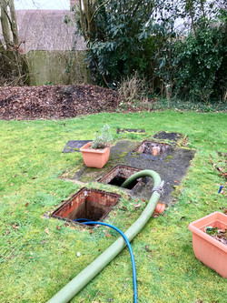 Emptying and Jetting of drains