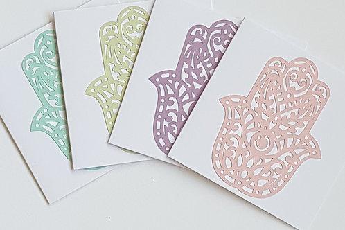 4x Hamsahand pack of cards